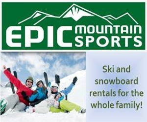 Epic Mountain Sports : Outdoor shop.