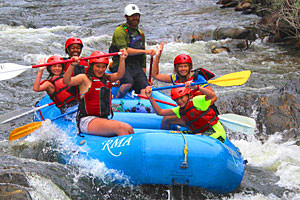 Family Whitewater Rafting Adventures