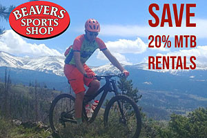 Beavers Sports Shop bike rentals - save 20%