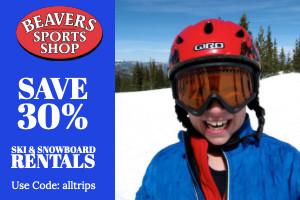 Beavers Sports Shop ski rentals - save 30%