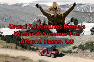 Grand Adventures - year round powersport rentals