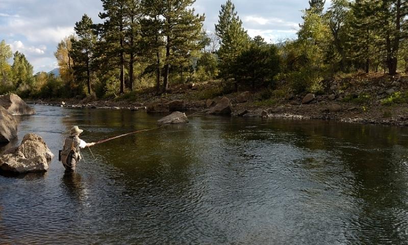 Fishing the Arkansas River