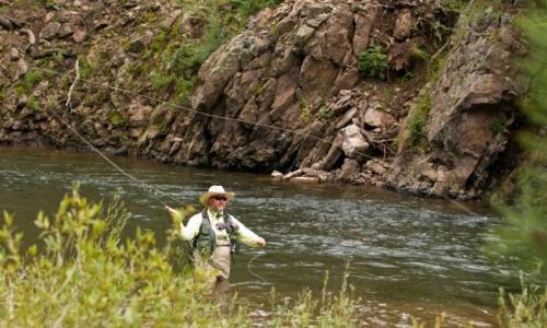 Fishing the Conejos River