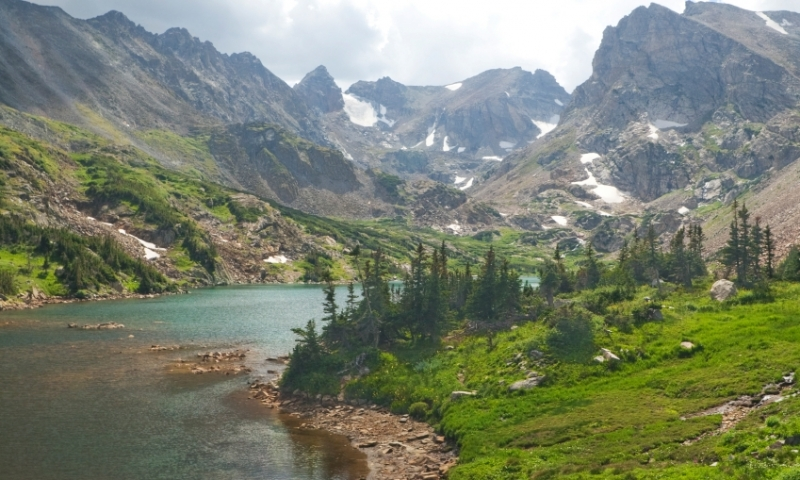 Lake Isabelle in the Indian Peaks Wilderness
