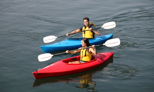kayaking in India