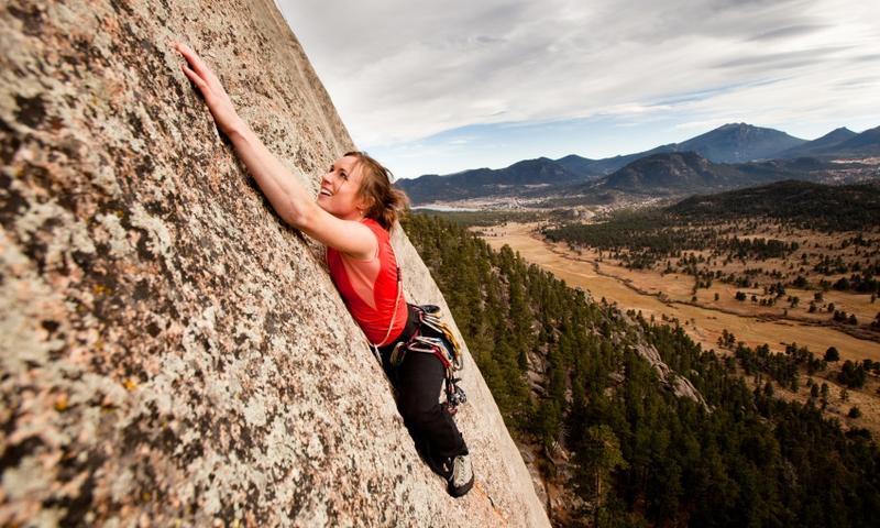 Climbing Rocky Mountain National Park Colorado