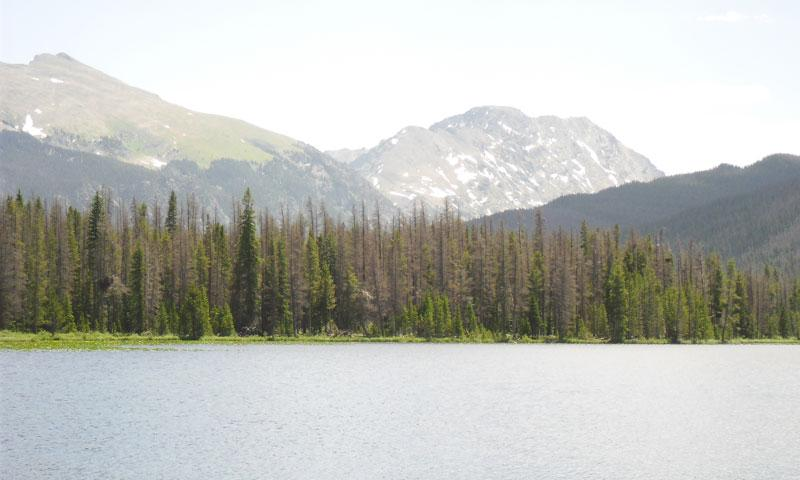 Strawberry Lake in Arapaho National Recreation Area