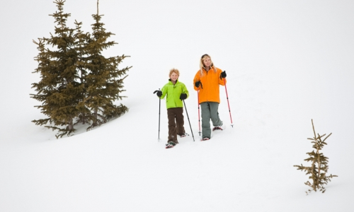 Winter Park Kids Snowshoeing