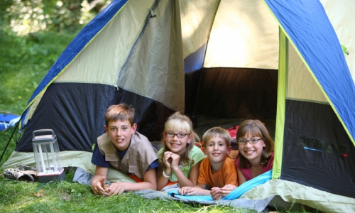 Winter Park Kids Camping
