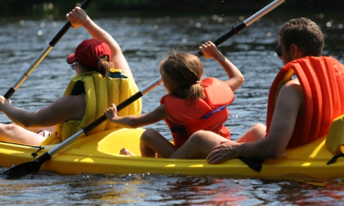 Winter Park Kids Canoeing