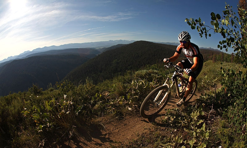 Mountain Biking at SolVista