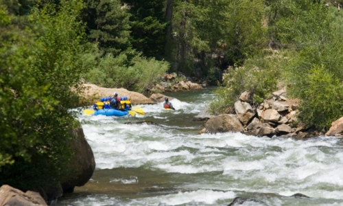 Winter Park Colorado White Water Rafting