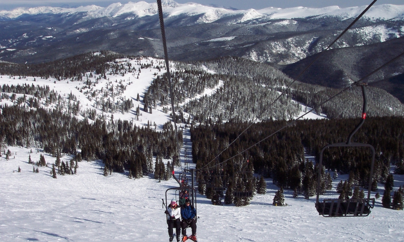 Skiing at Winter Park Ski Resort