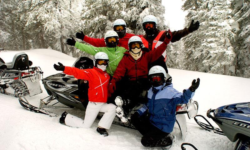 Continental Divide Snowmobiling Tour near Winter Park Colorado